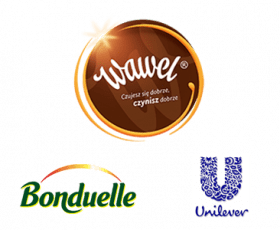 Logo Wawel Unilever Bonduelle
