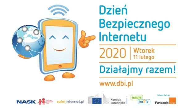 baner promujący dzień bezpiecznego internetu 2020
