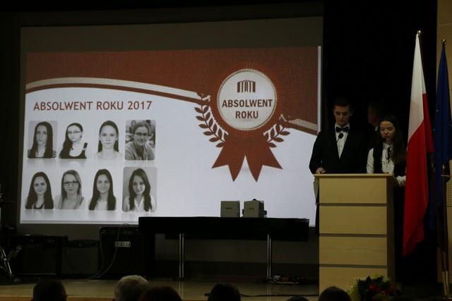 Absolwent roku 2017, wręczenie nagród
