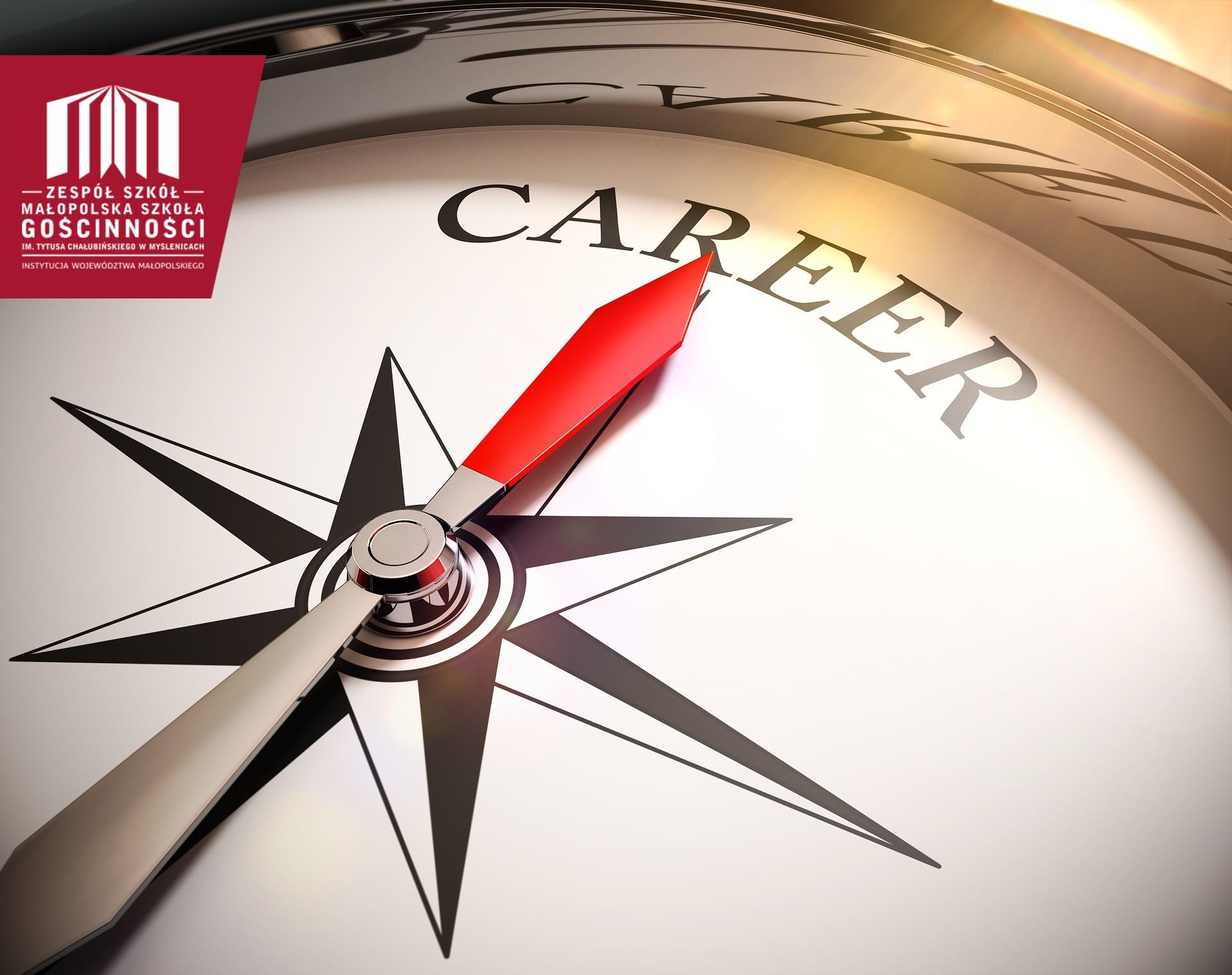 kompas z napisem career